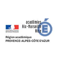 Logo Région académique Provence-Alpes-Côte d'Azur
